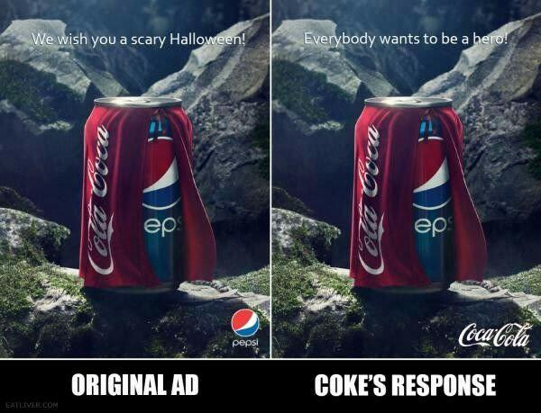 How has social media changed how brands interact: Pepsi & Coca Cola