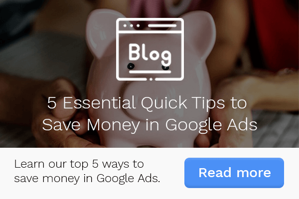 5 Essential Quick Tips for Saving Money in Google Ads CTA Mobile
