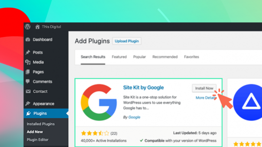 How to Install the Google Site Kit Plugin on Your WordPress Site