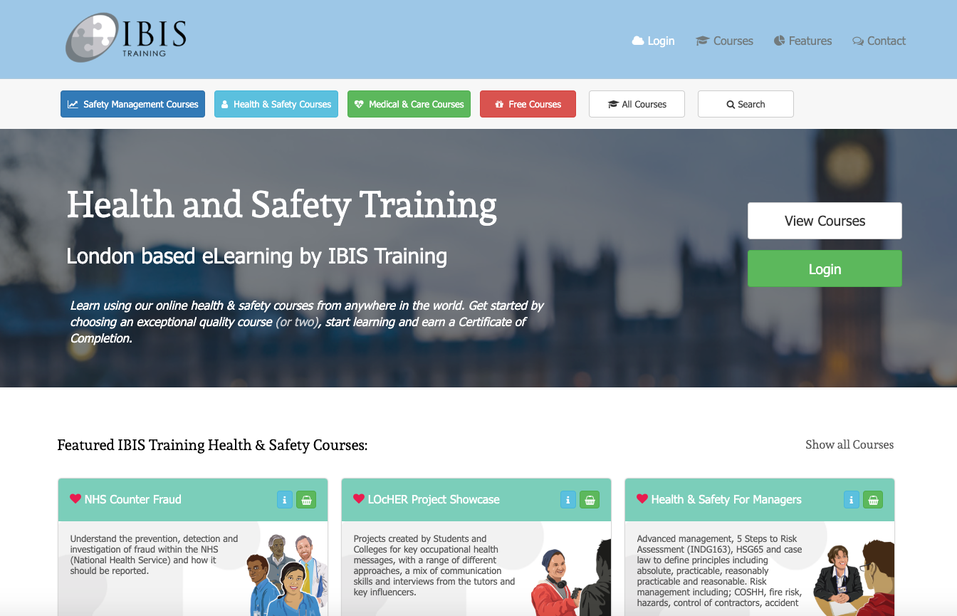 IBIS Training website